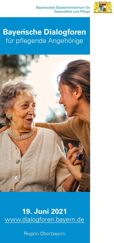 Einladung zum Dialogforum für pflegende Angehörige