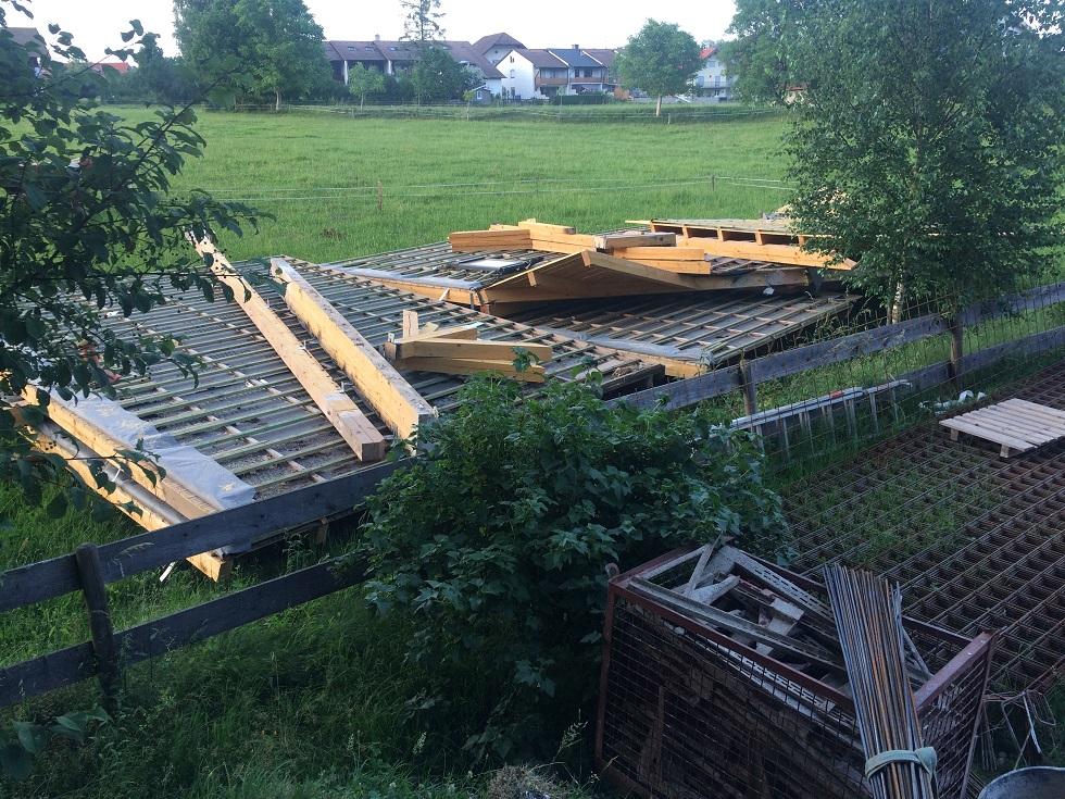 Baustelle in Adelstetten kommt gut voran