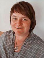 Sie sehen Andrea Inneberger, die Leiterin des Wohnhauses Adelstetten