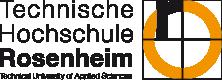 Sie sehen das Loge der Technischen Hochschule Rosenheim