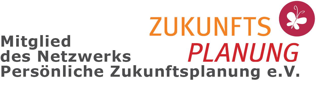 Sie sehen das Logo des Netzwerks der persönlichen Zukunftsplanung