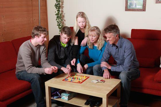 Eine Wohnsituation aus dem betreuten Wohnen in Familien