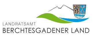 Das Logo und der Link zur Webseite des Berchtesgadner Lands