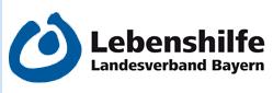 Logo und Link zum Landesverband der Lebenshilfe in Bayern