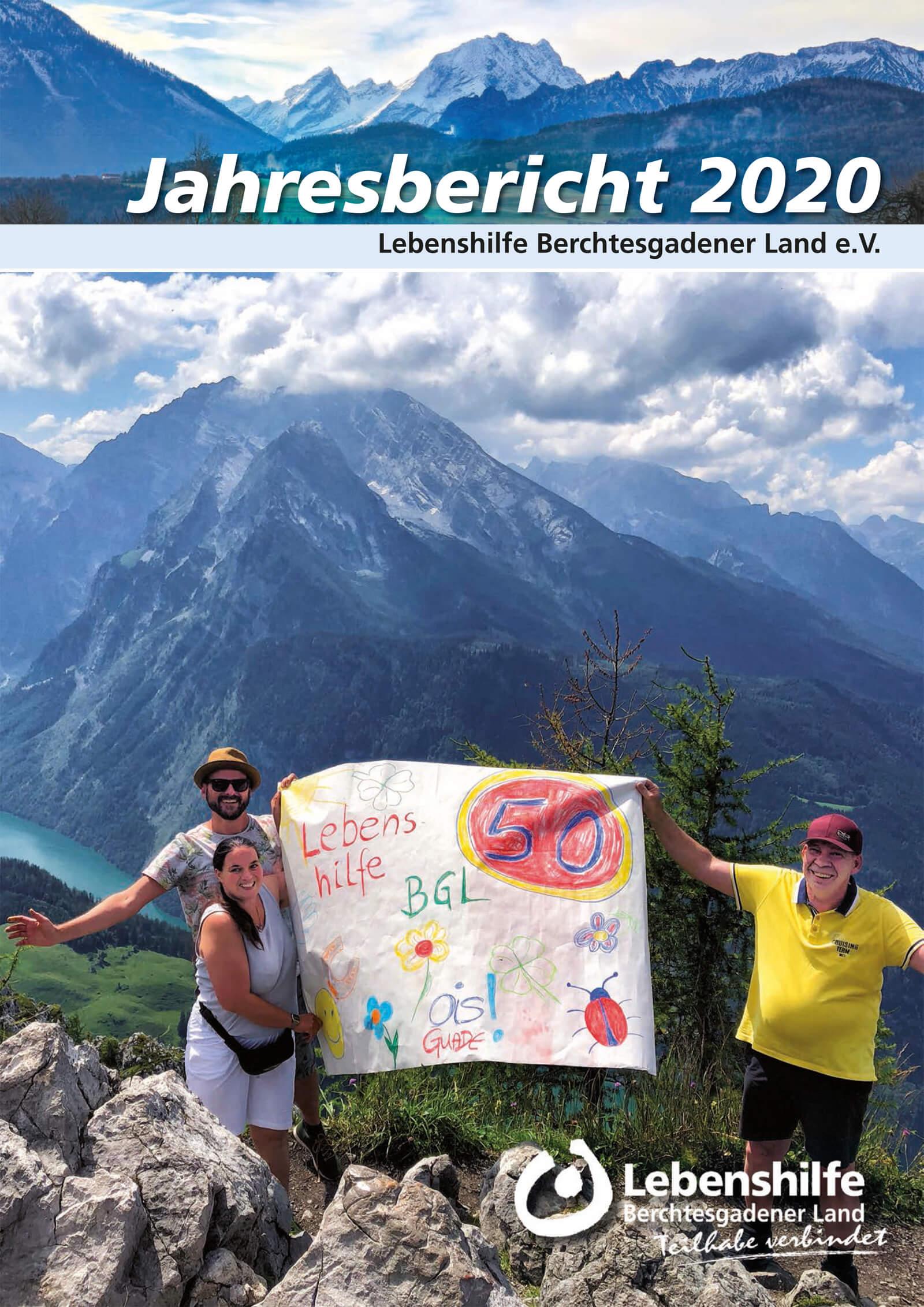 Sie sehen das Titelbild zum Jahresbericht 2020