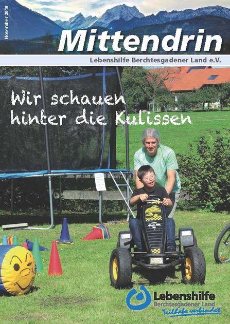 Das neue Mittendrin der Lebenshilfe Berchtesgadener Land ist erschienen