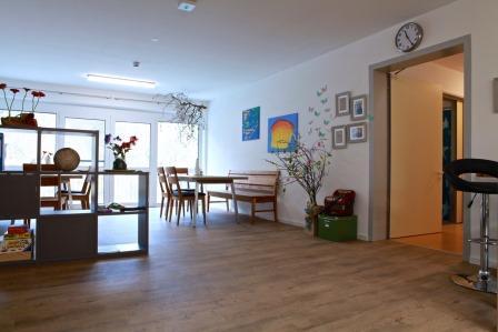 Sie sehen den Wohnraum des Wohnhauses Berchtesgaden