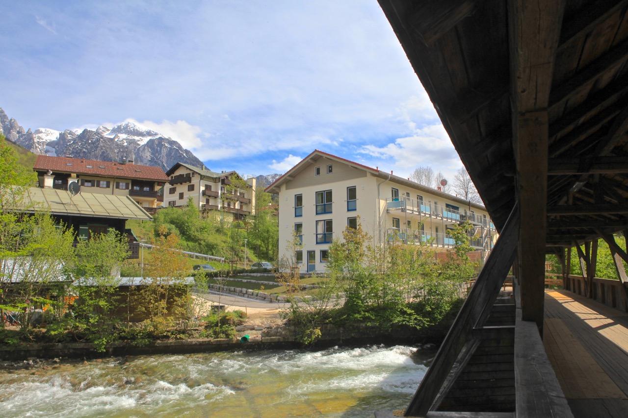 Sie sehen das Wohnhaus Berchtesgaden