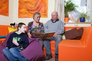 Eine Beschäftigungssituation in unserem Familien Entlastenden Dienst