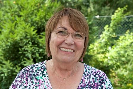 Sie sehen Frau Christa Hertelendi, Vorstandsmitglied der Lebenshilfe BGL