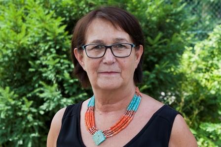 SSie sehen Frau Margot Radusch, Vorstandsmitglied der Lebenshilfe BGL
