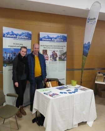 "Berufsinformationstag im ""Alpenkongress"" in Berchtesgaden."