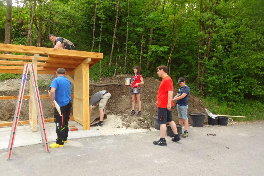 Aktion 72 Stunden bei der Lebenshilfe Berchtesgadener Land