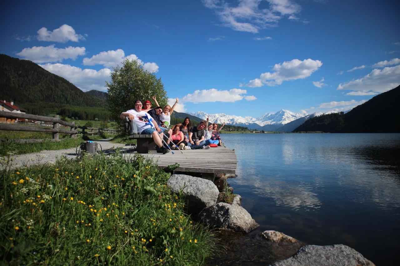 Die Bewohner des Wohnhauses Berchtesgaden machen Urlaub!