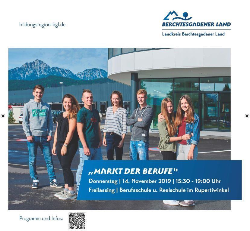 """Lebenshilfe Berchtesgadener Land ist beim """"Markt der Berufe"""""""