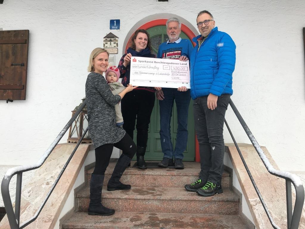 Adventsfenster für die Lebenshilfe Berchtesgadener Land