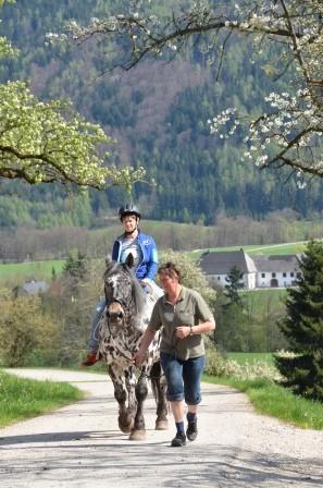 Reiter-Freizeit im ober-österreichischen Almtal